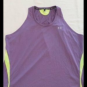 Under armour womens XL purple loose tank